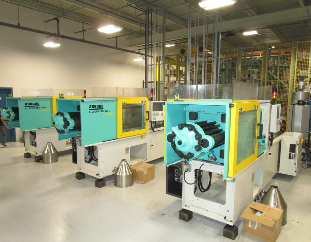 Forum-Molding-Machines-New110 Ton
